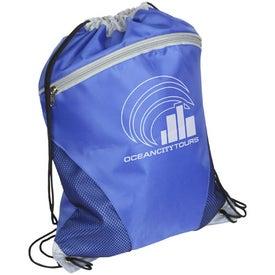 Cyclone Mesh Curve Drawstring Backpack