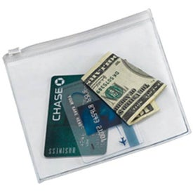 DeBoer Vinyl Pouch w/Plastic Closure for Your Company