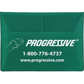 Deluxe Auto Document Case with Your Slogan