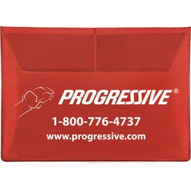 Deluxe Auto Document Case for Advertising