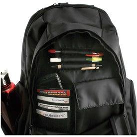 Logo Deluxe Ballistic Compu Backpack