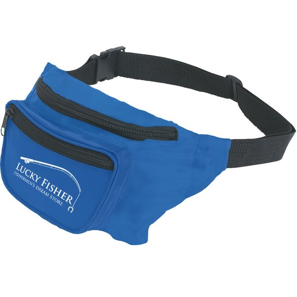 Royal Blue Deluxe Fanny Pack
