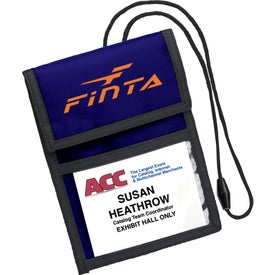 Deluxe ID/Badge Holder for Advertising