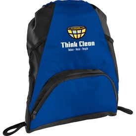 Deluxe Mesh Accent Drawstring Sports Pack