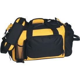 Monogrammed Deluxe Sports Duffel Bag