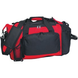 Logo Deluxe Sports Duffel Bag