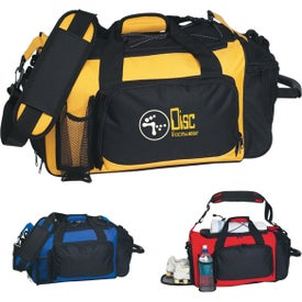 Deluxe Sports Duffel Bag Branded with Your Logo