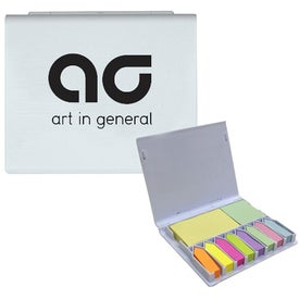 Branded Deluxe Sticky Note Holder
