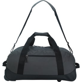 Deluxe Wheeled Duffel Bag for Advertising