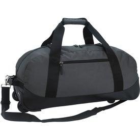 Branded Deluxe Wheeled Duffel Bag