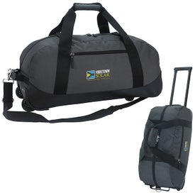 Deluxe Wheeled Duffel Bag