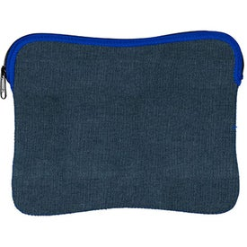 Denim Neoprene Kappotto Sleeve for iPads