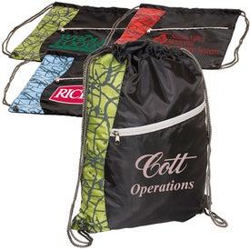 Designer String-A-Sling Backpack Branded with Your Logo