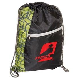 Customized Designer String-A-Sling Backpack