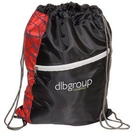 Monogrammed Designer String-A-Sling Backpack