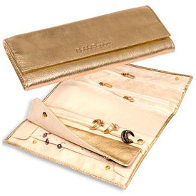 Diamond District Jewelry Roll - Metallic for Promotion