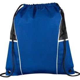 Diamond Drawstring Backpack for Customization