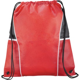 Diamond Drawstring Backpack with Your Logo