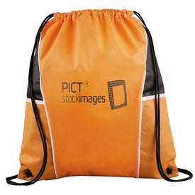 Diamond Drawstring Backpack for Your Company