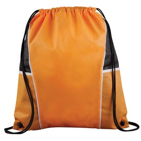 Promotional Diamond Drawstring Backpack