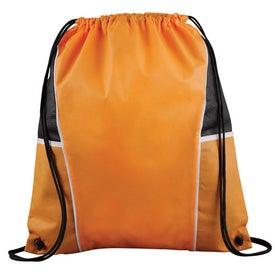 Promotional Diamond Drawstring Backpack