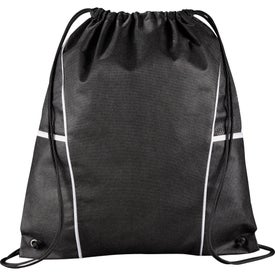 Diamond Drawstring Backpack Printed with Your Logo