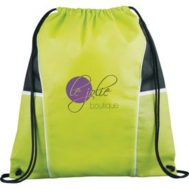 Company Diamond Drawstring Backpack