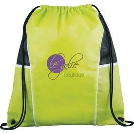 Company Diamond Drawstring Backpack