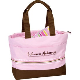 Monogrammed Diaper Bag with Changing Pad