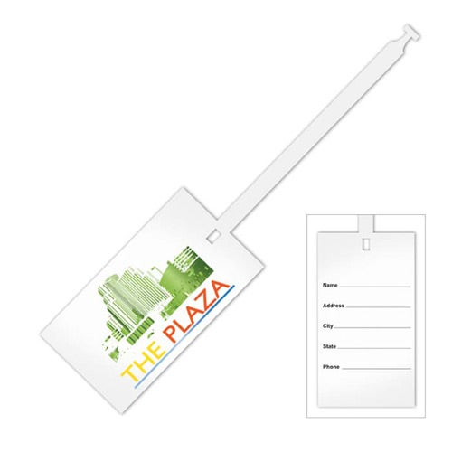 Disposable Luggage Tag