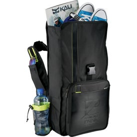 Disrupt Recycled Compu-Sling Backpack for Advertising