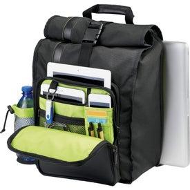 Printed Disrupt Recycled Compu-Sling Backpack