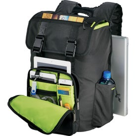 Printed Disrupt Recycled Cargo Compu-Backpack