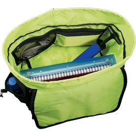Disrupt Recycled Cargo Compu-Backpack for Marketing