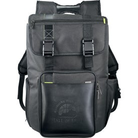 Disrupt Recycled Cargo Compu-Backpack for Advertising