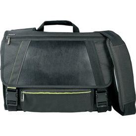 Monogrammed Disrupt Recycled Compu-Messenger Bag