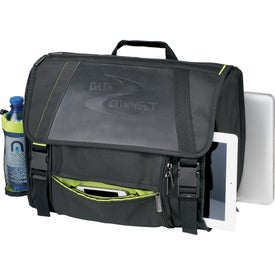 Disrupt Recycled Compu-Messenger Bag for Advertising
