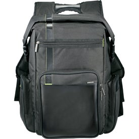 Monogrammed Disrupt Recycled Deluxe Compu-Backpack