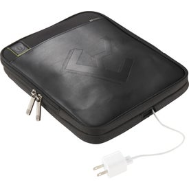 Disrupt Recycled Tablet Sleeve Messenger Bag Printed with Your Logo