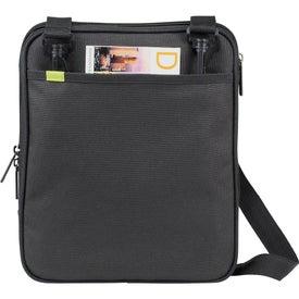 Promotional Disrupt Recycled Tablet Sleeve Messenger Bag