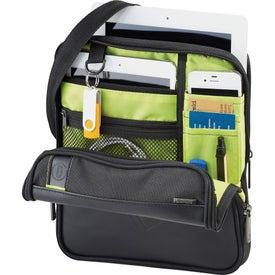 Imprinted Disrupt Recycled Tablet Sleeve Messenger Bag