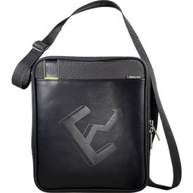 Disrupt Recycled Tablet Sleeve Messenger Bag for Your Company