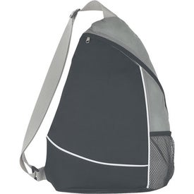 Imprinted Non-Woven Sling Backpack