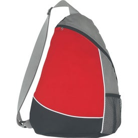 Non-Woven Sling Backpack Branded with Your Logo