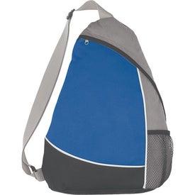 Monogrammed Non-Woven Sling Backpack