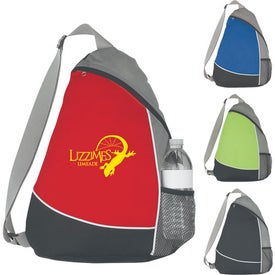 Printed Non-Woven Sling Backpack