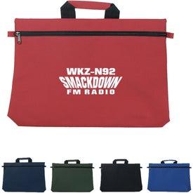 Logo Customizable Document Bag