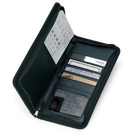 Document Case with Zipper