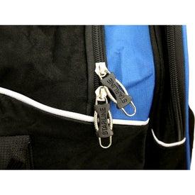 Monogrammed Dogbone Duffel Bag