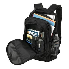 Imprinted Domain Computer Backpack
